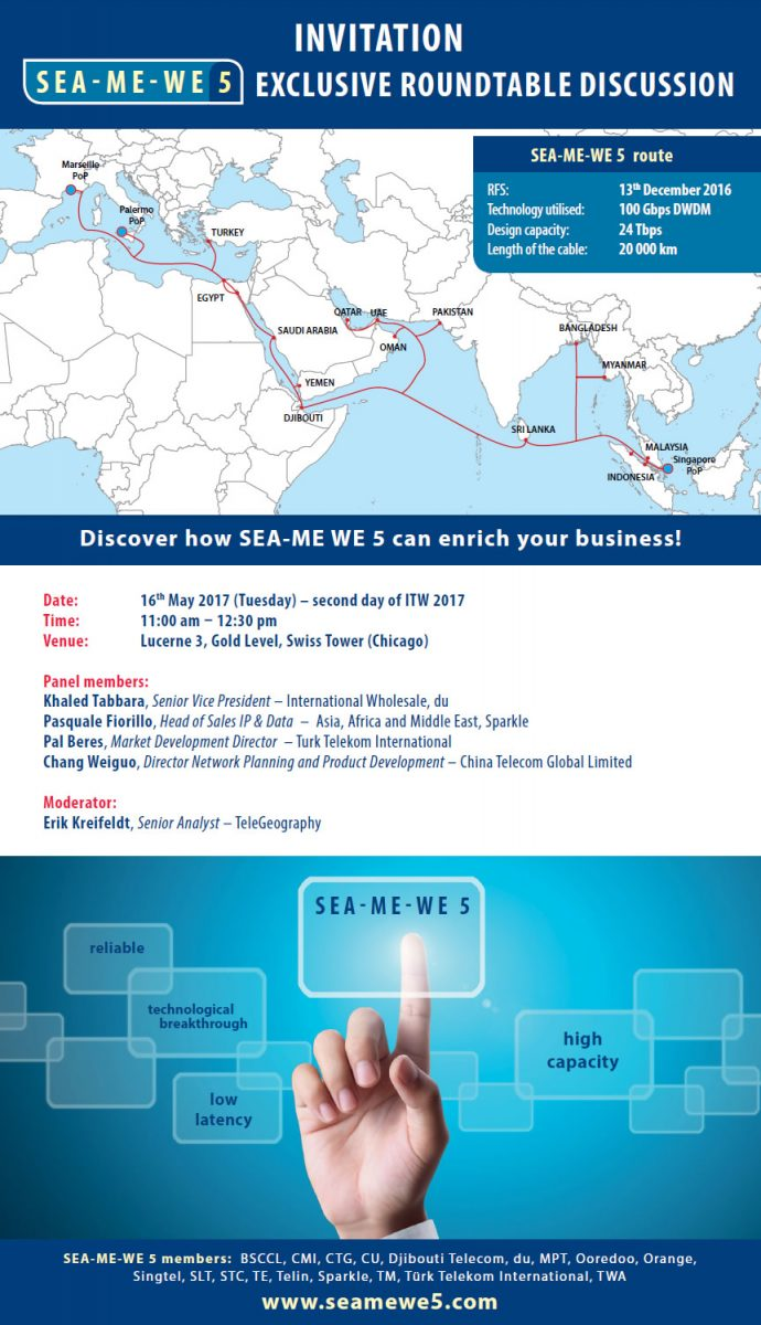 Invitation to the sea me we 5 roundtable event at itw 2017 sea me we 5 invitation to the sea me we 5 roundtable event at itw 2017 stopboris Gallery